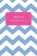 Macy's Pocket Posh Journal, Chevron