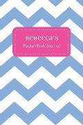 Rebecca's Pocket Posh Journal, Chevron