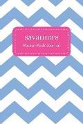Savanna's Pocket Posh Journal, Chevron