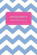 Savannah's Pocket Posh Journal, Chevron