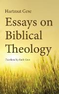 Essays on Biblical Theology
