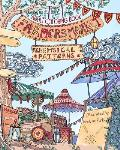 Adult Coloring Book: Whimsical Patterns: Farmers Market: