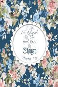 I Am Not Ashamed of the Good News of Christ: Bible Verse Quote Cover Composition Notebook Portable