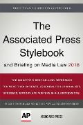 Associated Press Stylebook 2018 & Briefing On Media Law