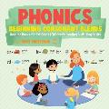 Phonics Beginning Consonant Blends: Reading Books for 1st Grade - Children's Reading & Writing Books