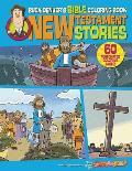 Buck Denver's Bible Coloring Book: New Testament Stories