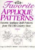 Favorite Applique Patterns Volume 1