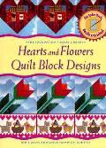 Heart & Flowers Quilt Block Designs