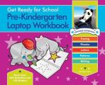 Get Ready for School Pre K Laptop Workbook Uppercase Letters Tracing Beginning Sounds Writing Patterns