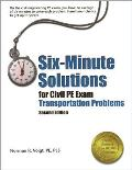 Six Minute Solutions For Civil Pe Exam
