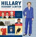 Hillary Rodham Clinton Presidential Playset Includes Ten Paper Dolls Three Rooms of Fun Fashion Accessories & More