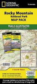National Geographic Trails Illustrated Map||||Rocky Mountain National Park [Map Pack Bundle]