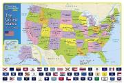 The United States for Kids [Laminated]