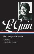 Ursula K Le Guin The Complete Orsinia Malafrena Orsinian Tales Other Tales