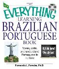 Everything Learning Brazilian Portuguese Book Speak Write & Understand Portuguese in No Time with CD
