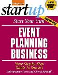 Start Your Own Event Planning Business 3rd Edition Your Step by Step Guide to Success