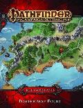 Pathfinder Campaign Setting Hells Rebels Poster Map Folio