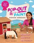 Pop Out & Paint Horse Breeds Create Paper Models of 10 Different Breeds