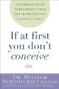 If at First You Dont Conceive Complete Guide To Overcoming Infertility