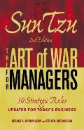 Sun Tzu The Art of War for Managers