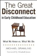 Great Disconnect in Early Childhood Education What We Know vs What We Do