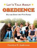 Let's Talk about Obedience - Expanded Edition with Word Puzzles