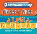 Pocket Pack Alpha Doodles 26 Activity Cards in a Box
