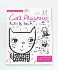 Cat's Playgroup: A Drawing and Coloring Book