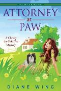 Attorney-at-Paw: A Chrissy the Shih Tzu Mystery