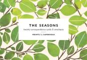 The Seasons Note Cards: 20 Flat Cards & Envelopes