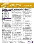 CPT 2020 Express Reference Coding Card: Ear, Nose & Throat