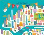 New York Coloring Book Mini Edition