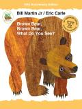 Brown Bear Brown Bear What Do You See 50th Anniversary Edition with Audio CD