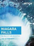 Moon Niagara Falls Including the Canadian & U S Sides