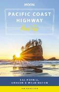 Moon Pacific Coast Highway Road Trip California Oregon & Washington