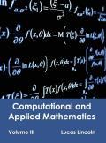 Computational and Applied Mathematics: Volume III