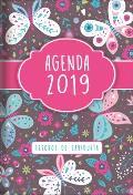 2019 Agenda - Tesoros de Sabidur?a - Mariposas: Con Un Pensamiento Motivador O Un Vers?culo de la Biblia Para Cada D?a del A?o
