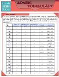 Arabic Vocabulary (Speedy Study Guides: Academic)