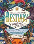 The Illustrated Bestiary Collectible Box Set: Guidance and Rituals from 36 Inspiring Animals; Includes Hardcover Book, Deluxe Oracle Card Set, and Car