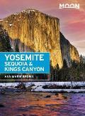 Moon Yosemite Sequoia & Kings Canyon