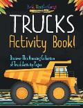 Trucks Activity Book! Discover This Amazing Collection of Truck Activity Pages