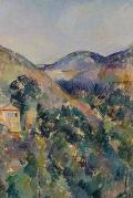 View of the Domaine Saint-Joseph by Paul Cezanne - A Poetose Notebook / Journal / Diary (50 pages/25 sheets)