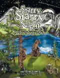 Starry, Starry Night: A Soft Moonlit Starry Night Casts a Veil of Slumber over the Mountain Meadow Animals.
