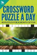 Crossword Puzzle a Day: 40 Puzzles for a Month of Fun
