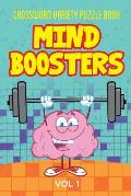 Crossword Variety Puzzle Book: Mind Boosters Vol 1.