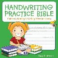 Handwriting Practice Bible: Children's Reading & Writing Education Books