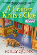 A Crafter Knits a Clue