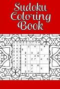 Sudoku Coloring Book: 100 Pages - 208 Puzzles - with Answer Key