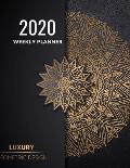 2020 weekly planner: Journal for 2020 weekly planner, calendar, daily activities, top priorities, victories and Look ahead in next week 8.5