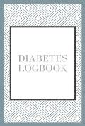 Diabetes logbook: Daily Journal For Record Blood Sugar Levels For One Year With Notes-DIM 6x9